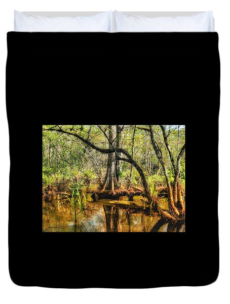 Swamp Life II Duvet Cover