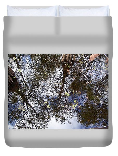 Swamp Mirrored Duvet Cover