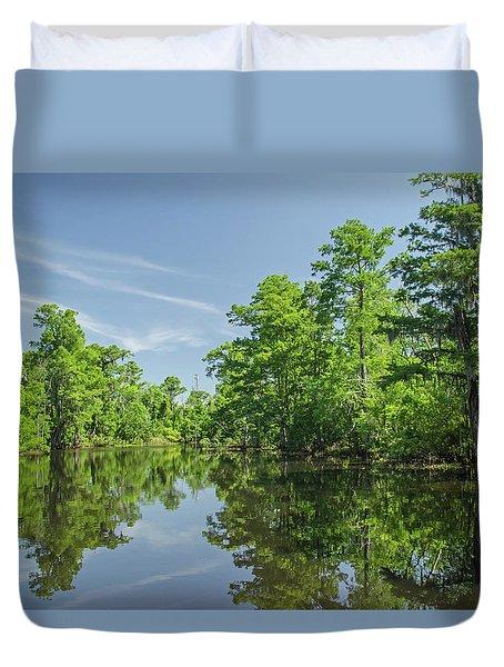 Swamp Scene 2 Duvet Cover