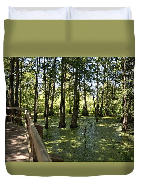 Swamps Duvet Cover