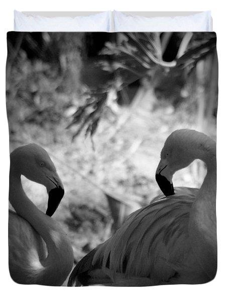 Swan Dance Duvet Cover