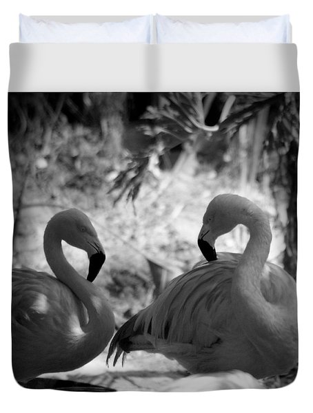 Swan Dance Duvet Cover