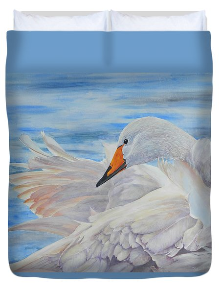 Swan Lake Duvet Cover