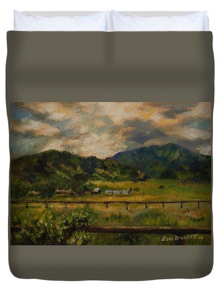Swan Valley Hillside Duvet Cover