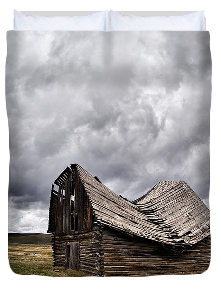 Sway Back Duvet Cover by Leland D Howard