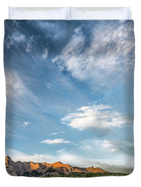 Sweeping Clouds Duvet Cover