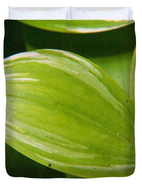 Sweeping Green Duvet Cover