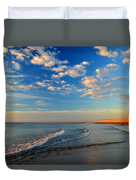 Sweeping Ocean View Duvet Cover