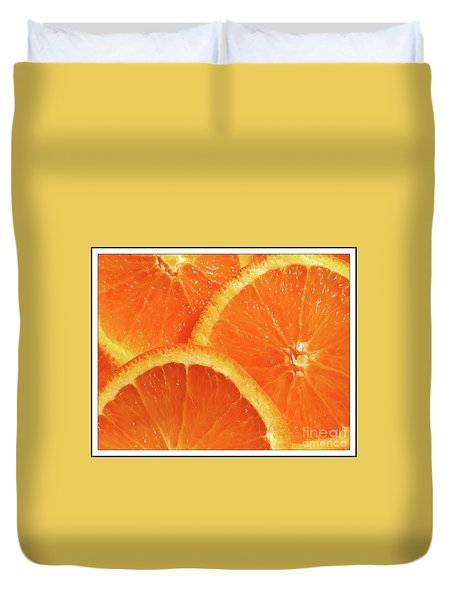 Sweet And Juicy Duvet Cover