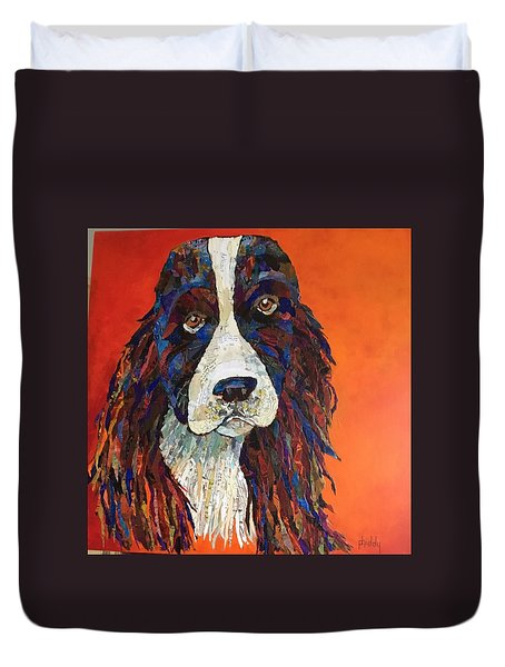 Sweet And Salty Springer Duvet Cover