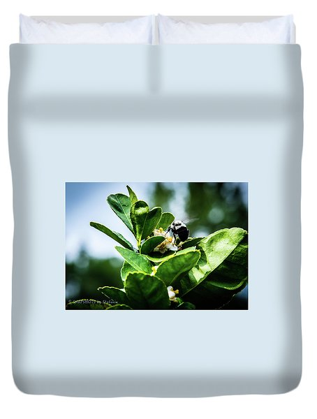 Sweet Bee Duvet Cover