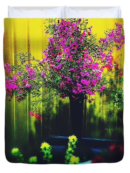 Sweet Boronia Duvet Cover by Blair Stuart