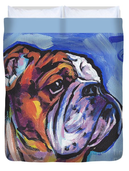 Sweet Bully Duvet Cover