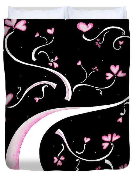 Sweet Charity By Madart Duvet Cover by Megan Duncanson