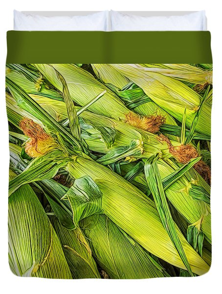 Sweet Corn Duvet Cover