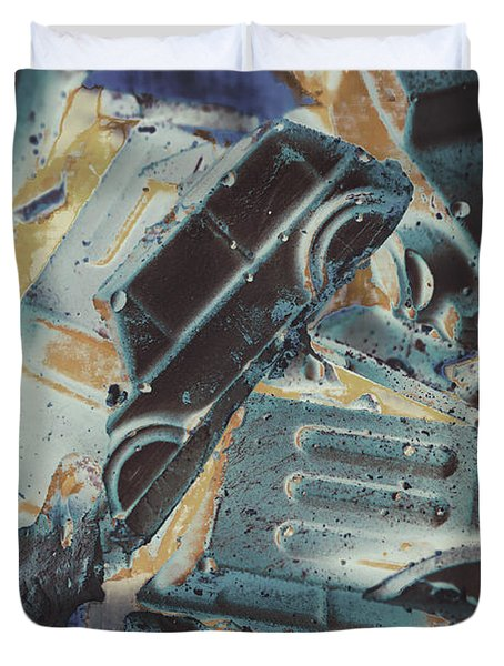 Sweet Destruction Duvet Cover