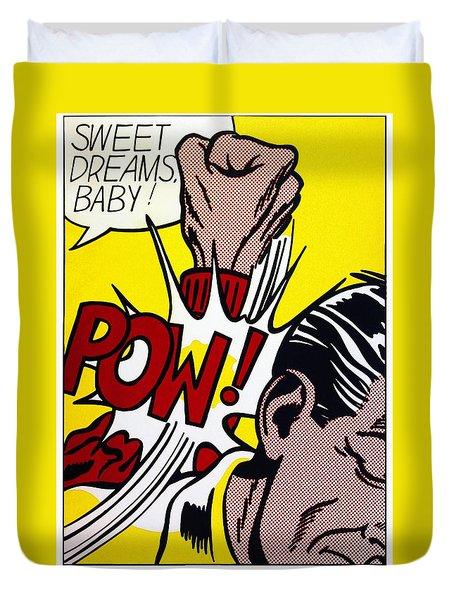 Sweet Dreams Baby Duvet Cover by Roy Lichtenstein