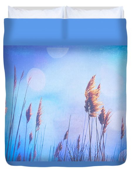 Sweet Dreams Duvet Cover by Colleen Kammerer