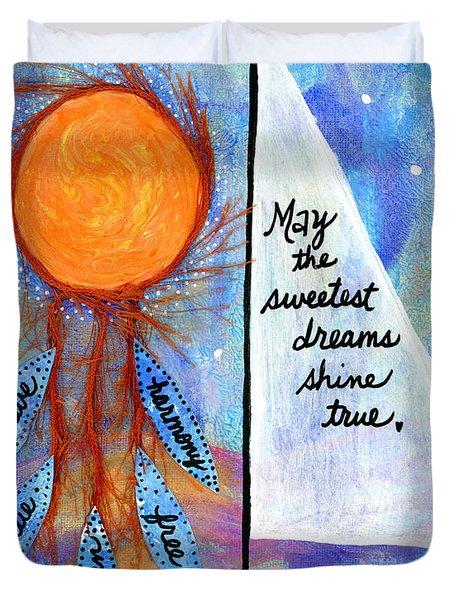 Sweet Dreams Shine Duvet Cover