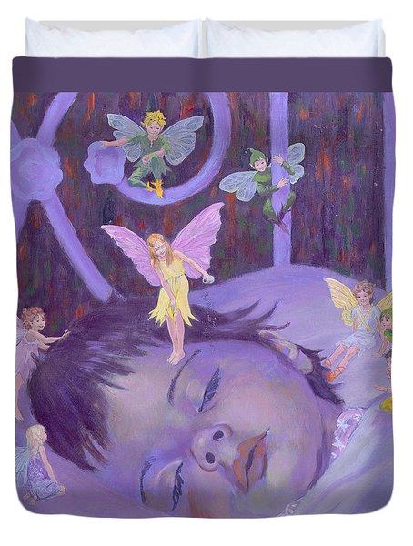 Sweet Dreams Duvet Cover by William Ireland