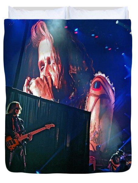 Dream On. Aerosmith Live  Duvet Cover