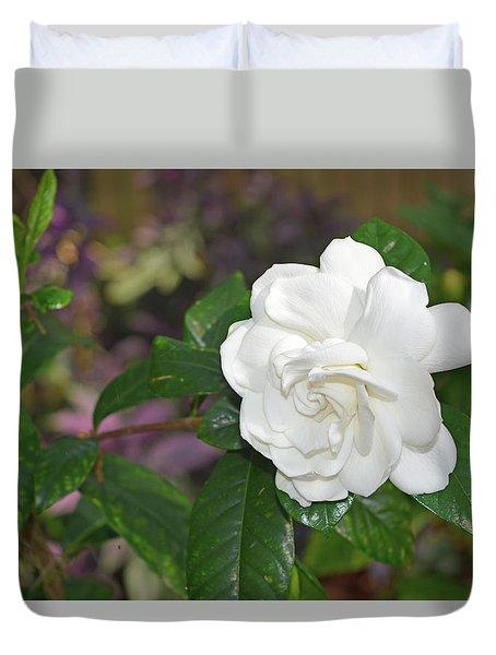 Sweet Gardenia Duvet Cover