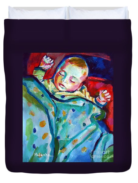 Sweet Little Baby Duvet Cover