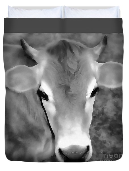 Sweet Jersey Girl - Jersey Cow Duvet Cover