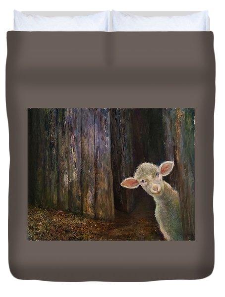 Sweet Lamb Duvet Cover