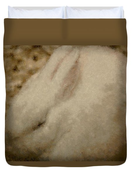 Sweet Marshmallow Duvet Cover