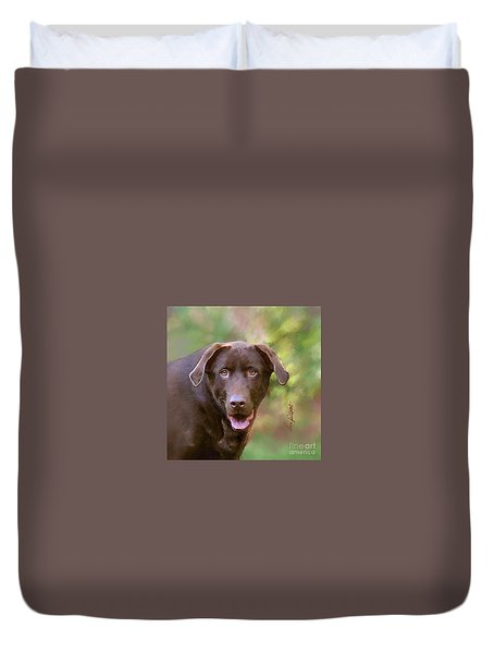 Sweet Molly Brown Duvet Cover