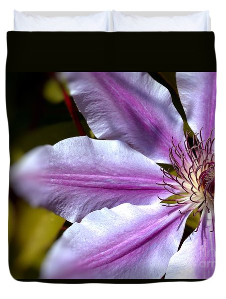 Sweet Nelly Clematis Duvet Cover