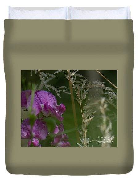 Sweet Pea 1 Duvet Cover