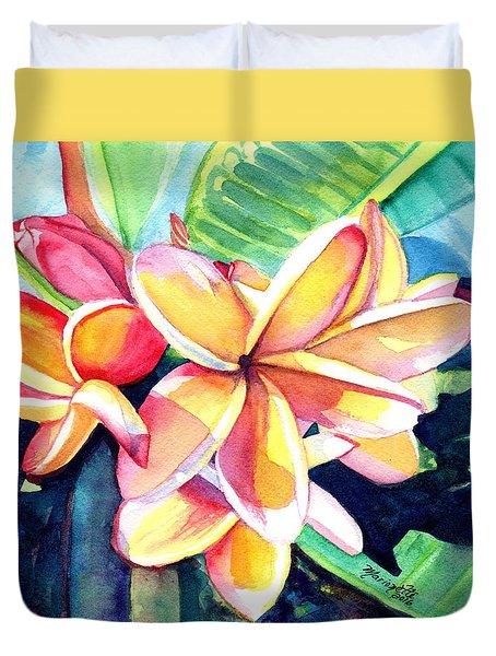 Sweet Plumeria 2 Duvet Cover