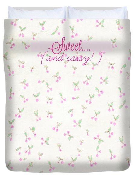 Sweet Duvet Cover