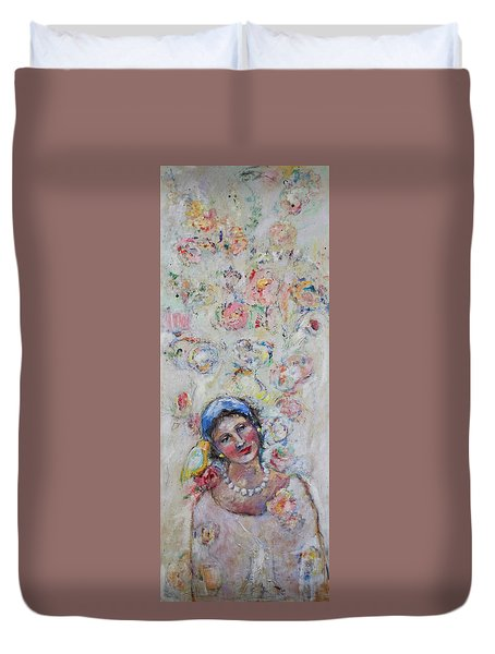 Sweet Secrets Duvet Cover