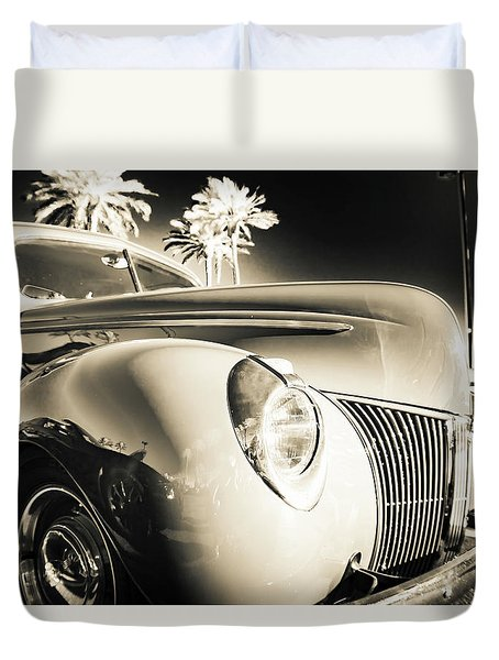 Sweet Sepia Duvet Cover