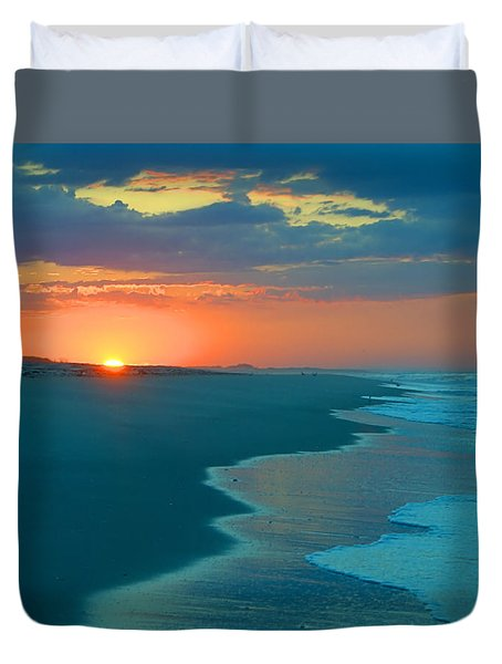 Duvet Cover featuring the photograph Sweet Sunrise by  Newwwman