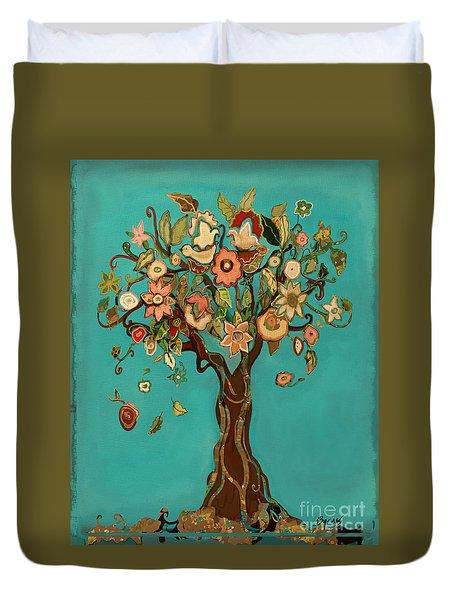 Sweet Tree Duvet Cover