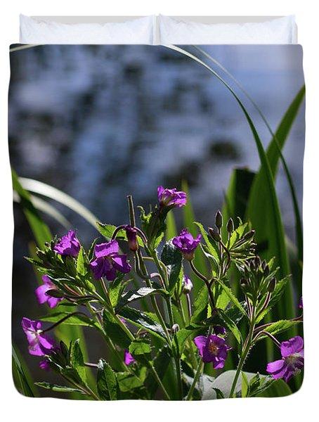 Sweet Violet Duvet Cover