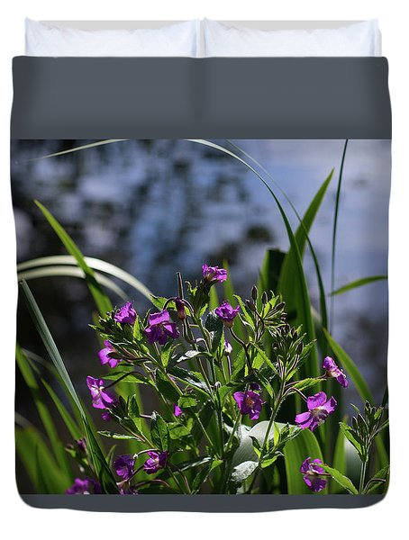 Sweet Violet Duvet Cover