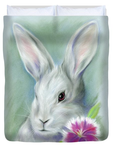Sweet William Bunny Rabbit Duvet Cover