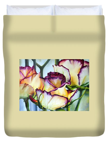 Sweetheart Roses Duvet Cover