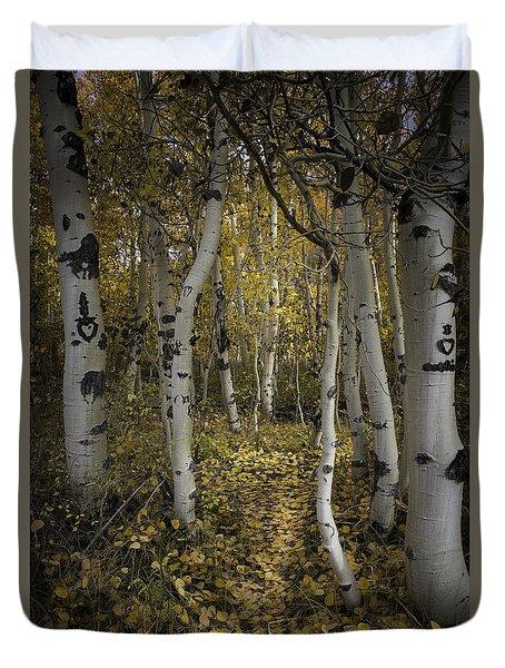Sweetheart Trail Duvet Cover