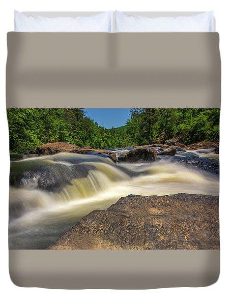 Sweetwater Creek Long Exposure 2 Duvet Cover