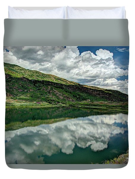 Sweetwater Lake 3 Duvet Cover