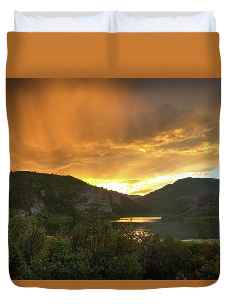 Sweetwater Lake 4 Duvet Cover