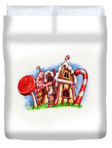 Sweety House Duvet Cover