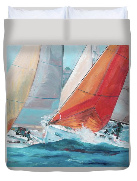 Swells Duvet Cover
