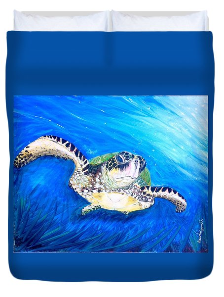 Swim Duvet Cover